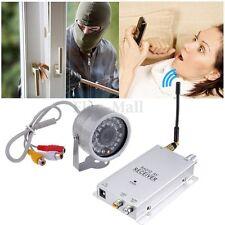 1.2G Wireless Camera Video AV Receiver Audio CCTV LED Color IR Home Security EM