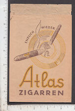 9421 Atlas Cigar Cigarette c 1910 German sleeve Greek mythology Endlich Wieder