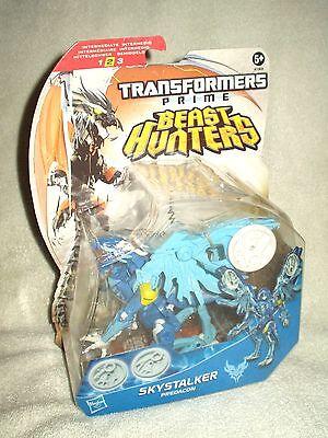 Transformers Action Figure Prime Beast Hunters Deluxe Skystalker Predacon 6 inch