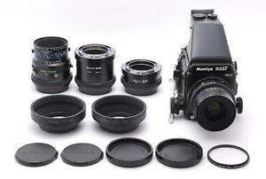 Nuovo di zecca +++ Mamiya RZ67 Pro II Z 90mm f/3.5 M 140mm F/4.5 M/L-UNA LENTE dal Giappone