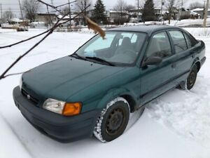 1997 Toyota Tercel (Low mileage)