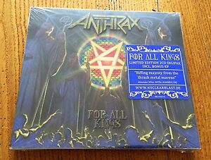 ANTHRAX-For-all-Kings-Limited-Edition-2CD-Digipak-Incl-Bonus-EP-CD