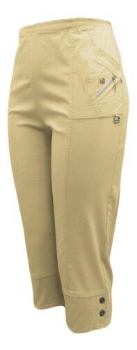 Femme Bermuda Pantalon Aussi Grandes Tailles AEREES sommerhose 38-54 stretch Corsaire