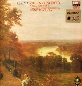 Elgar-Vinyl-LP-Violin-Concerto-EMI-41-2058-1-UK-1984-Ex-NM
