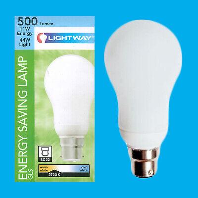 Bayonet 4x 20W Low Energy Power Saving CFL Stick Light Bulbs BC Lamps B22