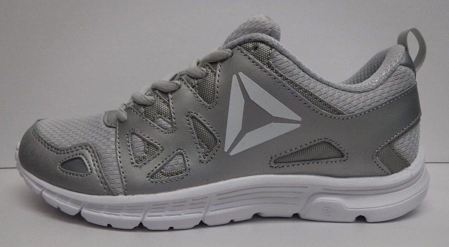 Reebok Größe 7 Silver Gray Running Sneakers NEU Damenschuhe Schuhes