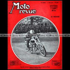 MOTO REVUE N°1085 BMW R5 R51 R6 R61 R12 R17 R75 METTET MARSEILLE ORLEANS 1952