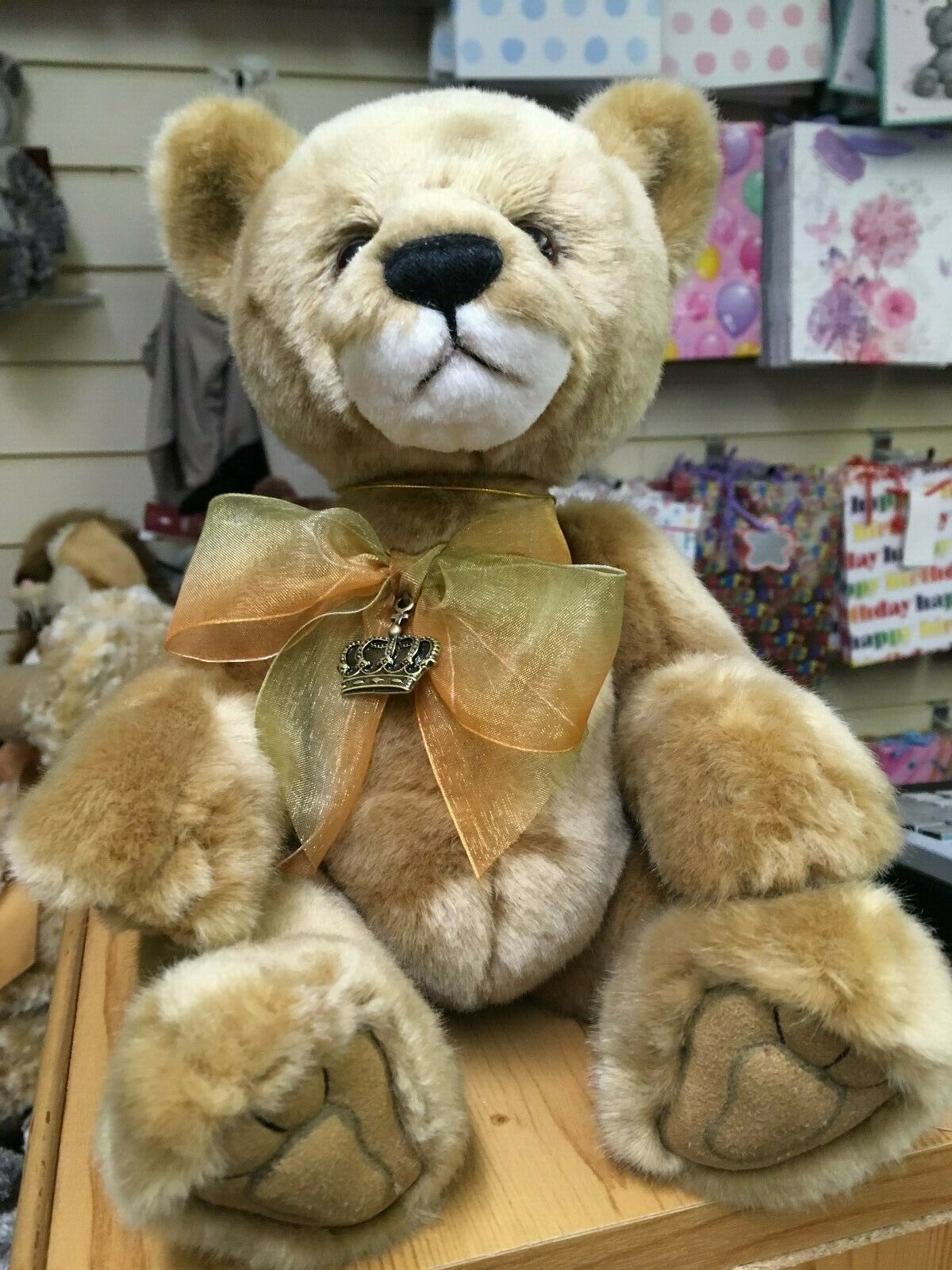 CHARLIE BEARS NUALA LION CUB