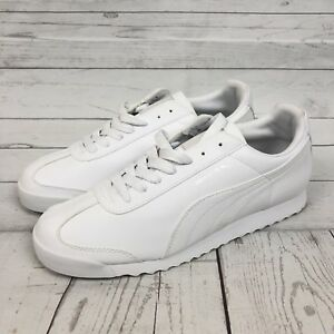 more photos 71efc 74f99 Image is loading Puma-Roma-Basic-353572-Retro-Athletic-Shoes-Sneakers-