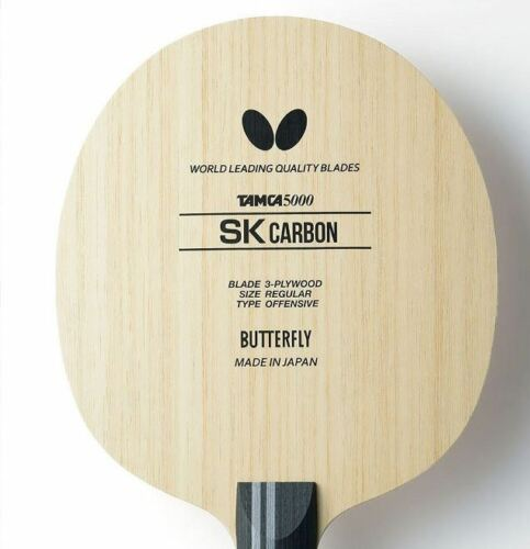Ping Pong Racket Butterfly TAMCA5000 SK Carbon ST Blade Table Tennis