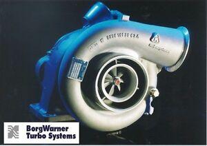 Details about BorgWarner Borg Warner 12 7L Detroit 60 Series Turbo Charger  500 HP V-Band