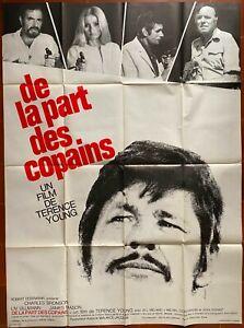 Plakat De La Part Des Copains James Mason Charles Bronson Liv Ullmann 120x160cm