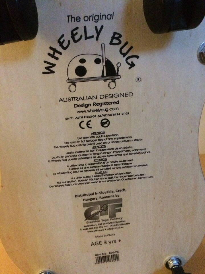 Andet legetøj, Wheely Bug, The Original Wheely Bug