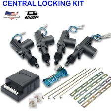 Universal 4 Door Power Lock Kit Car Central Power Door Lock Unlock Remote Us