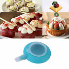 Silicone Macaron Mold Pot Baking Decorating Pen Pastry Cream Cake Nozzle Tool F5