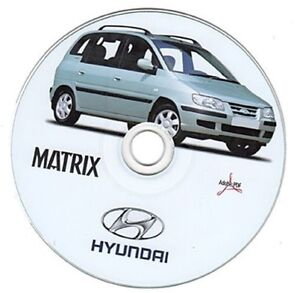 hyundai matrix 1 6 1 8 1 5d workshop manual manuale officina ebay rh ebay co uk Hyundai Sonata Repair Manual Hyundai Repair Manual PDF