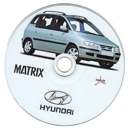 manuale officina Hyundai Matrix 1.6-1.8-1.5D workshop manual
