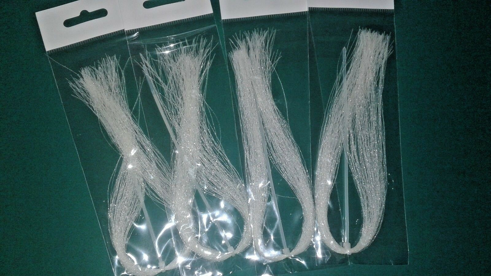 """1 Sheet 5/"""" x 10/"""" Holographic Emerald Green Flash Back scud back fly tying"""