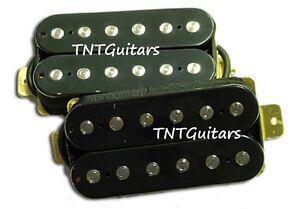 HH-Pickups-Screamers-Humbucker-Pickup-Set-Black-Buckers-Bridge-amp-Neck-Set