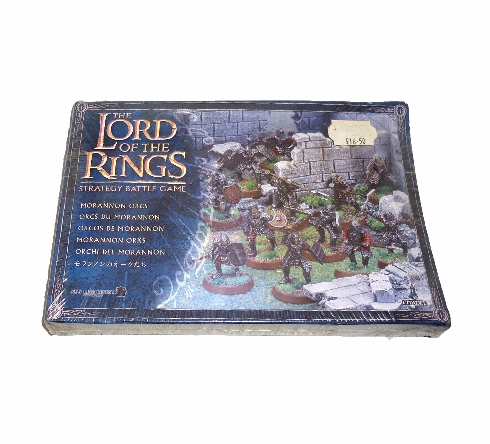 WARHAMMER ARMY LORD OF THE RINGS, MORRANON ORCS IN BOX