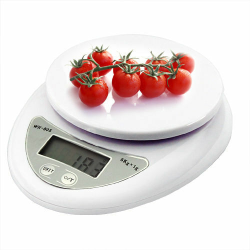 5kg 5000g/1g Digital Kitchen Food Diet Postal Scale Electronic Weight Balance Y6