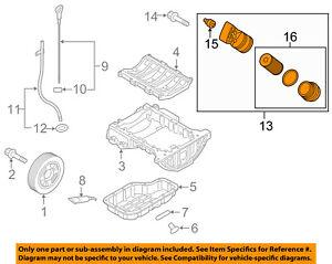 details about hyundai oem 2015 genesis 3 8l v6 engine oil filter housing 263003ckb0 Pontiac 2004 3.8L Belt Diagram
