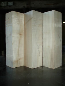 Madera Torneado Perno Blanks 50x50x200mm. Tejo Nogal Acacia Laburnum Apple Holly