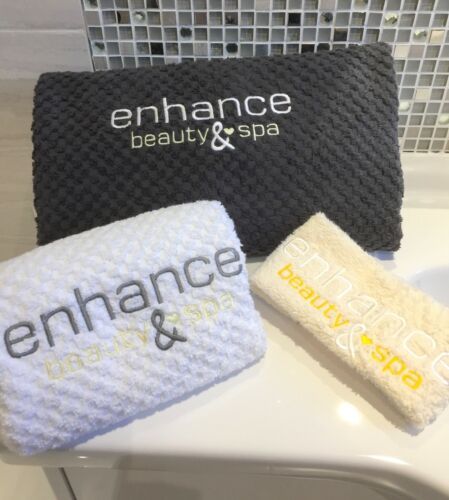 Personalised Towels Therapy Bed Towels//Hand Towels Beautician Nail Technician