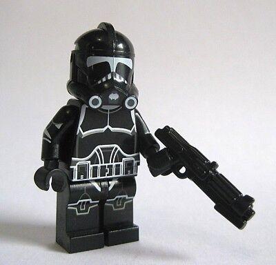 Lego 327th CLONE TROOPER Custom Printed Minifigure W// Helmet Brickarms DC-15