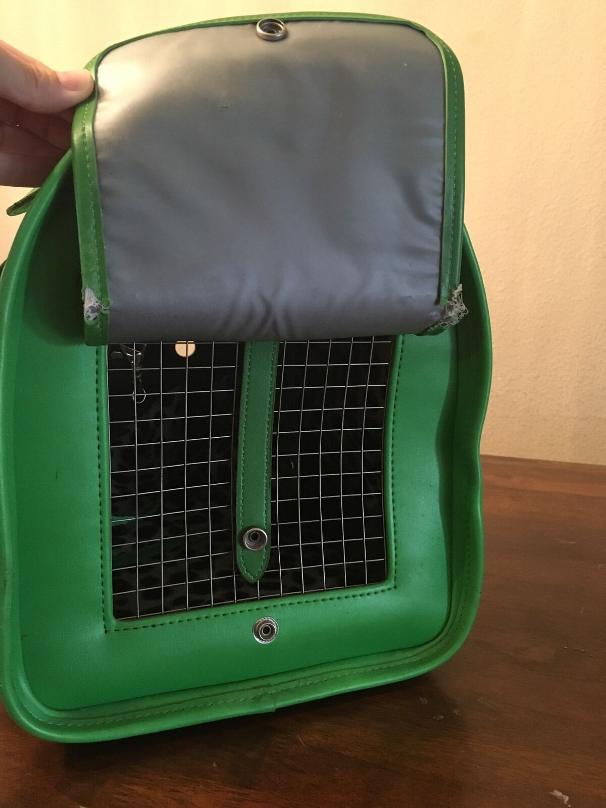 PetFlys Grün Tumbling Dice Pet Carrier Airline Airline Airline Approved Dog Cat Travel Tote Bag 4bf6cf