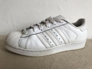 sports shoes 4ebbd 682ae Details about Size 5.5 Trainers ADIDAS Originals Superstar Foundation White  Lace Up Art B23641