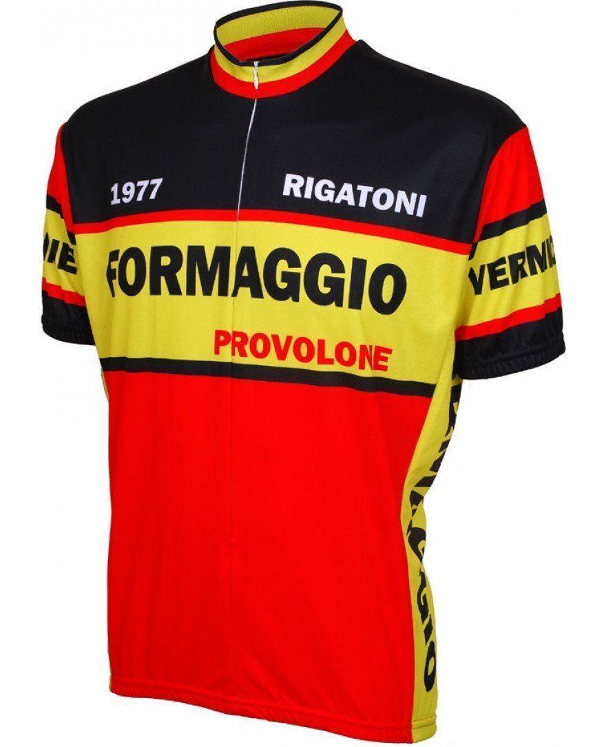 Formaggio 1977 Retro Cycling Jersey