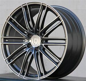 4 22x10//22x11.5 5x130 Staggered Wheel /& Tire Pkg Porsche Cayenne GTS Turbo. Set