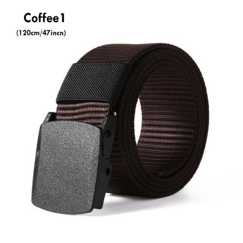 Casual Tactical Waistband Nylon Waist Belt for Fat Man Military Web Belt