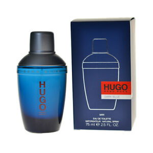 Hugo Boss Hugo Dark Blue Edt Eau De Toilette Spray For Men 75ml Ebay
