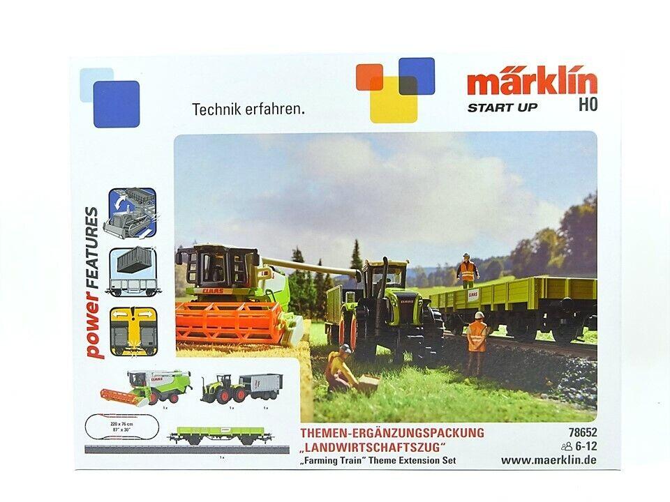 marklin h0 78652, estrellat up compleessito Pack lewirtschaftszug, NUOVO