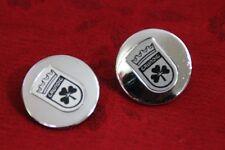 2 Embleme Logos  passend für Grundig Audiorama 4000 5000 Kugellautsprecher 2