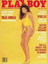 PLAYBOY JULY 1991 - SAMANTHA DORMAN - MISS BULGARIA - TALL GIRLS PICTORIAL