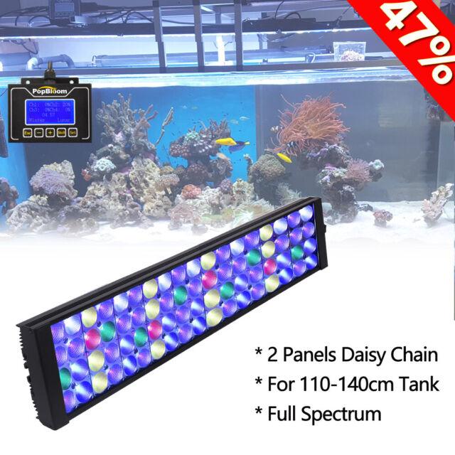 Dsuny Saltwater Aquarium Led Light 36 72 Reef Coral Marine Fish Tank Lighting Fish Aquariums Lighting Bulbs