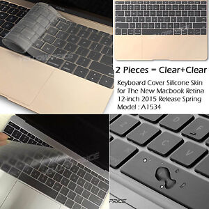 Thin-Clear-Silicon-Keyboard-Cover-Skin-Protector-for-NEW-Macbook-12-034-Mac-12-inch