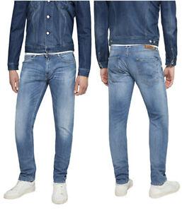 Straight Replay Denim Ma950 Jeans Tapered Stretch Indigo Dark 573 Neu 370 Rob zzrqw4