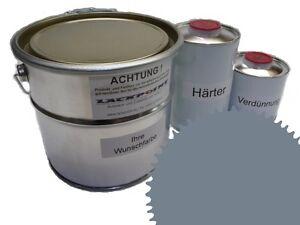 3 Liter Set 2K Floor Coating Ral 7046 Tele Grey 2 Shine Floor Color Workshop
