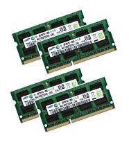 4x 4GB 16GB RAM DDR3 1600 MHz für Dell Alienware M17x R3 M17xR3 Samsung Speicher