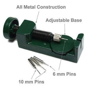 Metal-Watch-Band-Strap-Bracelet-Link-Pin-Remover-Repair-Adjustable-Tool-Kit-Set
