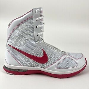 Nike-Womens-Zoom-Bold-Sister-MD-Basketball-Shoes-Pink-Size-6-5-Retro-344953-112