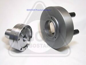 """BOSTAR  5C Collet Chuck Closer With Semi-finished 2-1//4/"""" x 8 Thread Back Plate"""