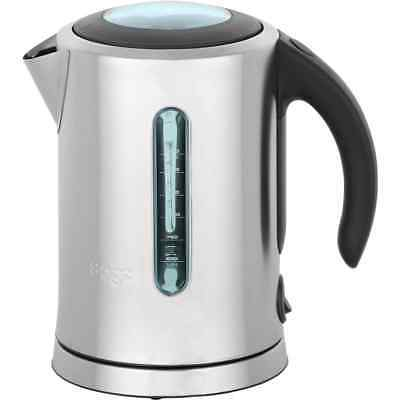 Sage BKE590UK The Soft Open Kettle Kettle Limescale Filter 3000 Watt Brushed
