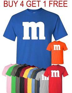 M-amp-M-T-Shirt-Halloween-T-shirt-Costume-M-and-M-Costumes-Tee