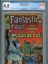 1966 MARVEL FANTASTIC FOUR #48 1ST APPEARANCE SILVER SURFER CGC 4.0 OW-W BOX11