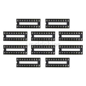 10PCS-20-Pin-DIP-IC-Sockets-Adaptor-Solder-Type-Socket-Integrated-Circuit-IC